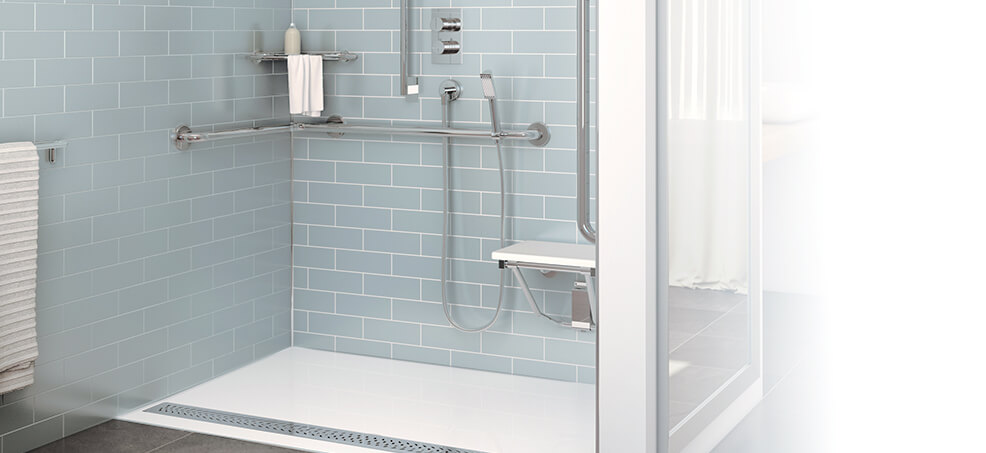 Roll-in Shower Options